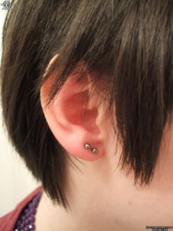 Second Hole Ear-Piercing